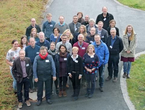 PLAWES project team at kick-off meeting