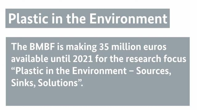 "Video of the Research Focus ""Plastics in the Environment – Sources • Sinks • Solutions"""